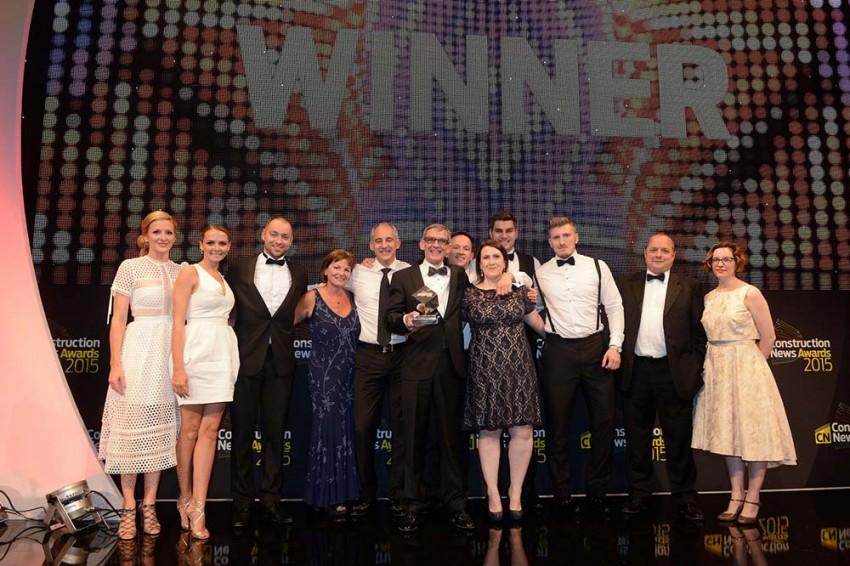 CN Award Employer of the Year Winner 2015