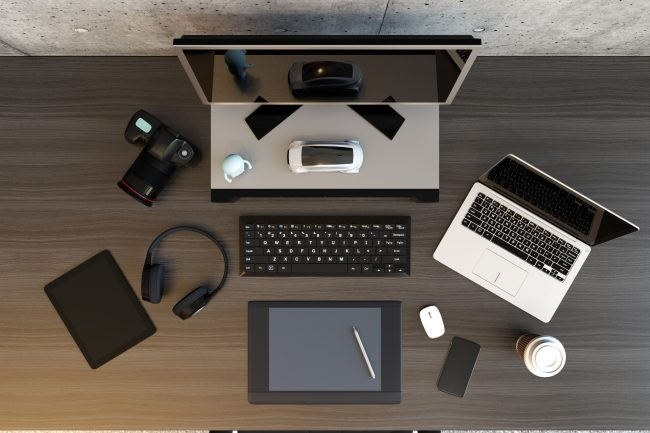 Video editing workspace